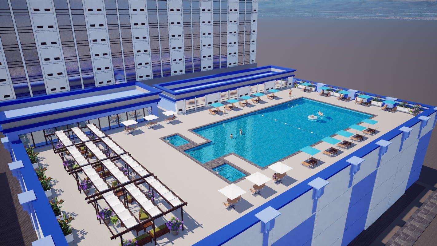 Sands Casino Hotel mengubah kamar menjadi apartemen baru