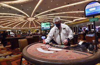 Kasino Las Vegas memberikan ancaman baru di tengah kebangkitan virus corona
