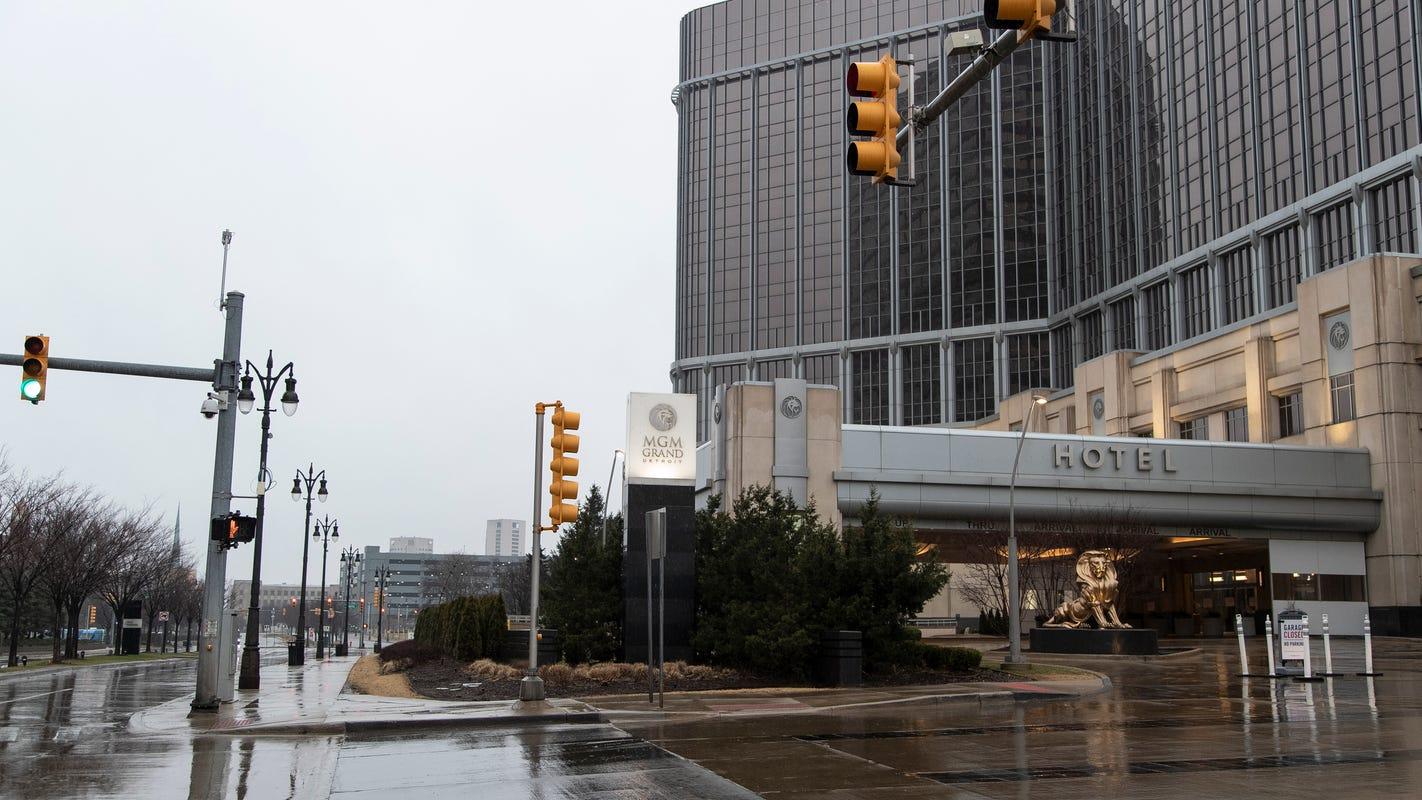Kasino Detroit akan dibuka kembali, tetapi mengharapkan rasa sakit yang berkelanjutan untuk kota
