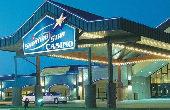 The White Earth Ojibwe tribe's Shooting Star Casino in Mahnomen, Minn. The tribe operates a smaller Shooting Star Casino in Bagley, Minn. Special to The Forum