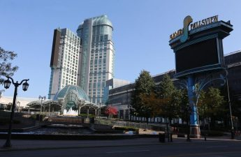 While 11 Ontario casinos opened up this week, Fallsview Niagara isn't one of them. Fallsview operator Mohegan Sun hasn't yet announced a reopening date.