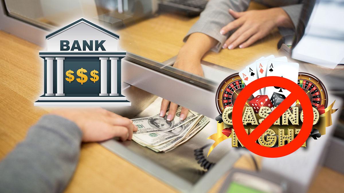 Interaksi Teller Bank Dengan Grafik Cross Out Kasino