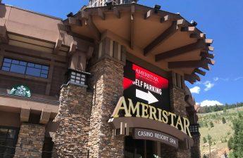 Outside the Ameristar Casino in Black Hawk.