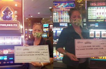 Penduduk Hawaii mendapatkan jackpot dua kali di kasino Las Vegas - Honolulu, berita Hawaii, olahraga & cuaca