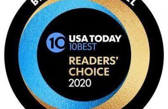 "Untuk Tahun Ketiga Berturut-turut, Properti Unggulan Mohegan Gaming & Entertainment Memilih ""Hotel Kasino Terbaik"" di Penghargaan 10 Pembaca Terbaik Pilihan Pembaca USA Today   Negara"