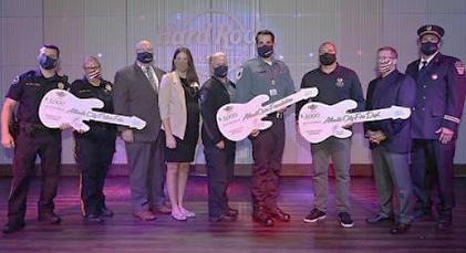 Hard Rock Hotel & Casino Atlantic City Merayakan Hari Responden Pertama Dengan Komitmen $ 15.000 untuk Layanan Darurat Lokal