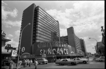 The Sundance hotel-casino is seen in 1980 in downtown Las Vegas. (Las Vegas Review-Journal file)